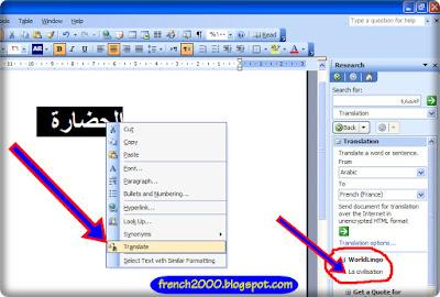 إضافة قاموس وترجمة ميكروسوفت إلى أوفس 2003 و2007
