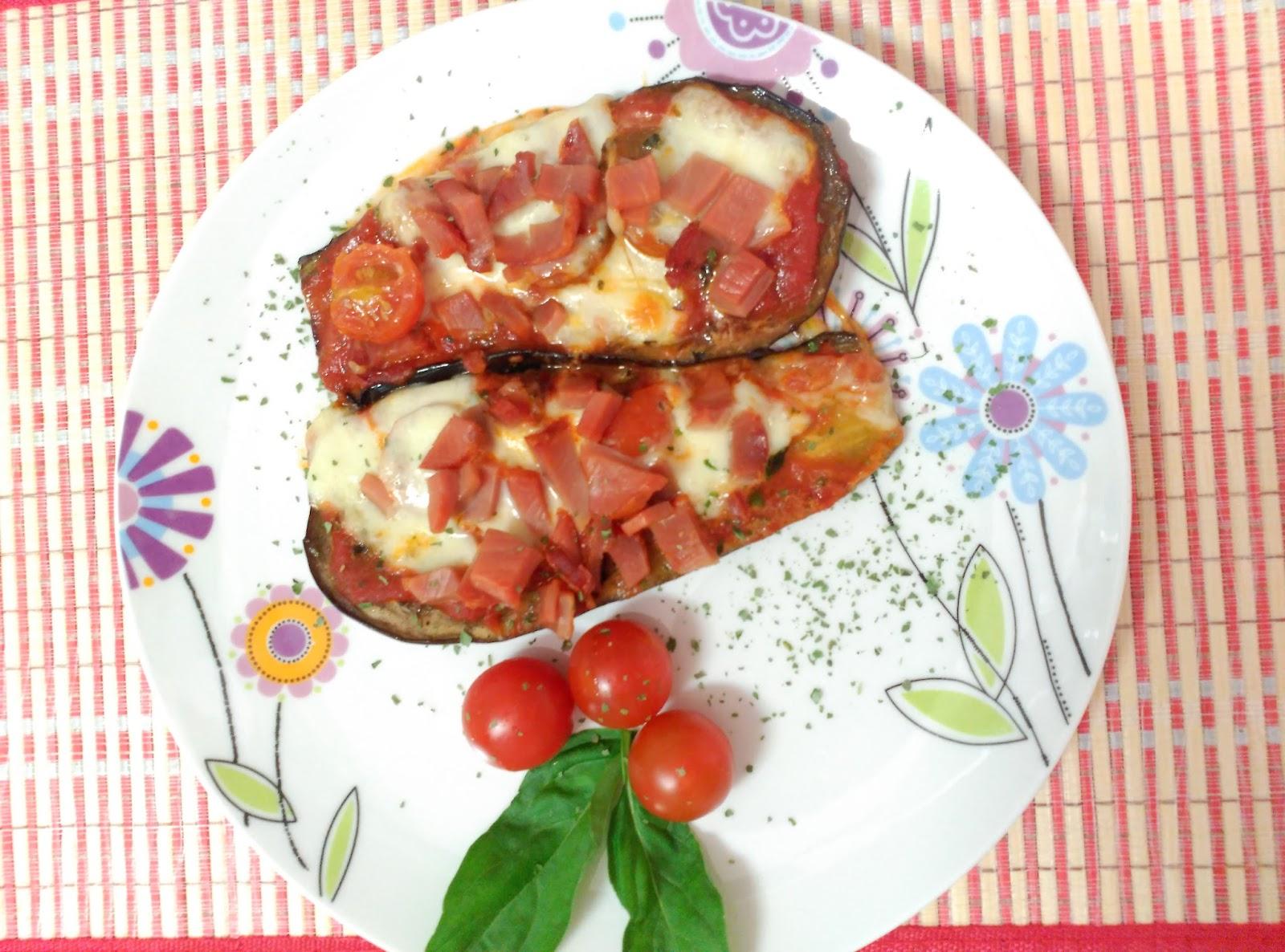 Cocinando con evelin berenjenas con tomate y mozzarella - Berenjenas con mozzarella ...