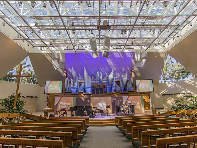 gc pro, house of worship, st. andrews presbyterian, stage monitoring