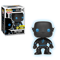 Justice League The Flash Silhouette Glow in the Dark Pop! Vinyl Figure - Entertainment Earth Exclusive