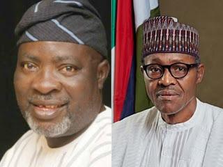 Kola Ologboniyan and Muhammafu Buhari