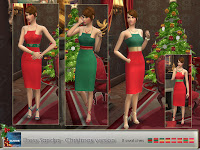 Sandra Dress - Party and Christmas version