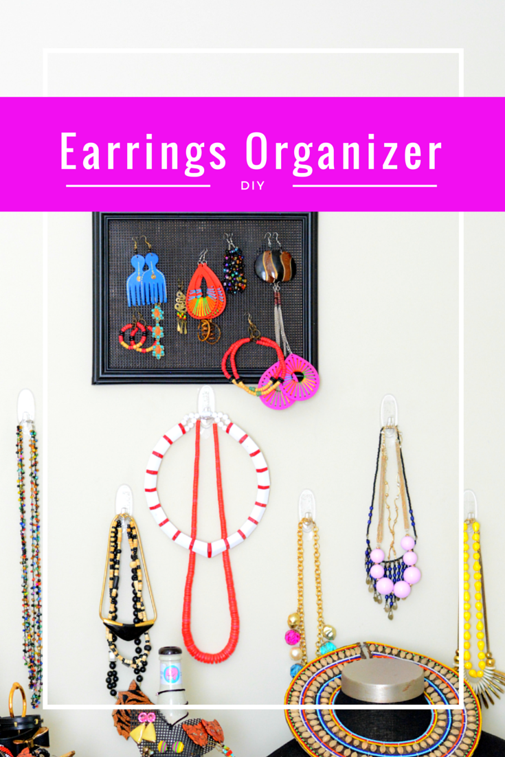 diy earrings organizer #shop