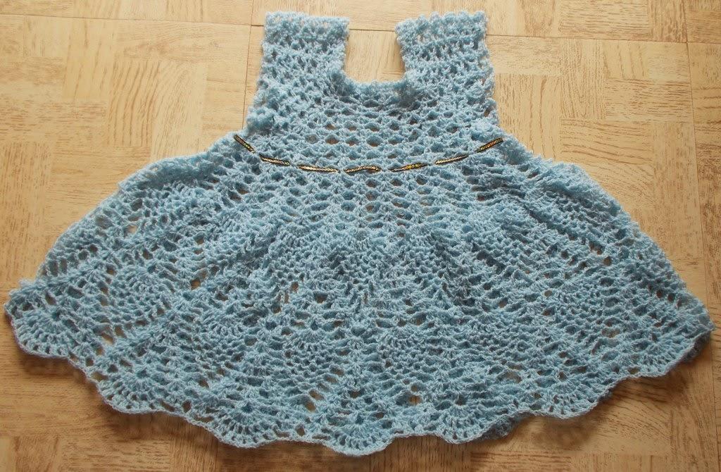 free crochet dress pattern, free crochet pineapple dress pattern