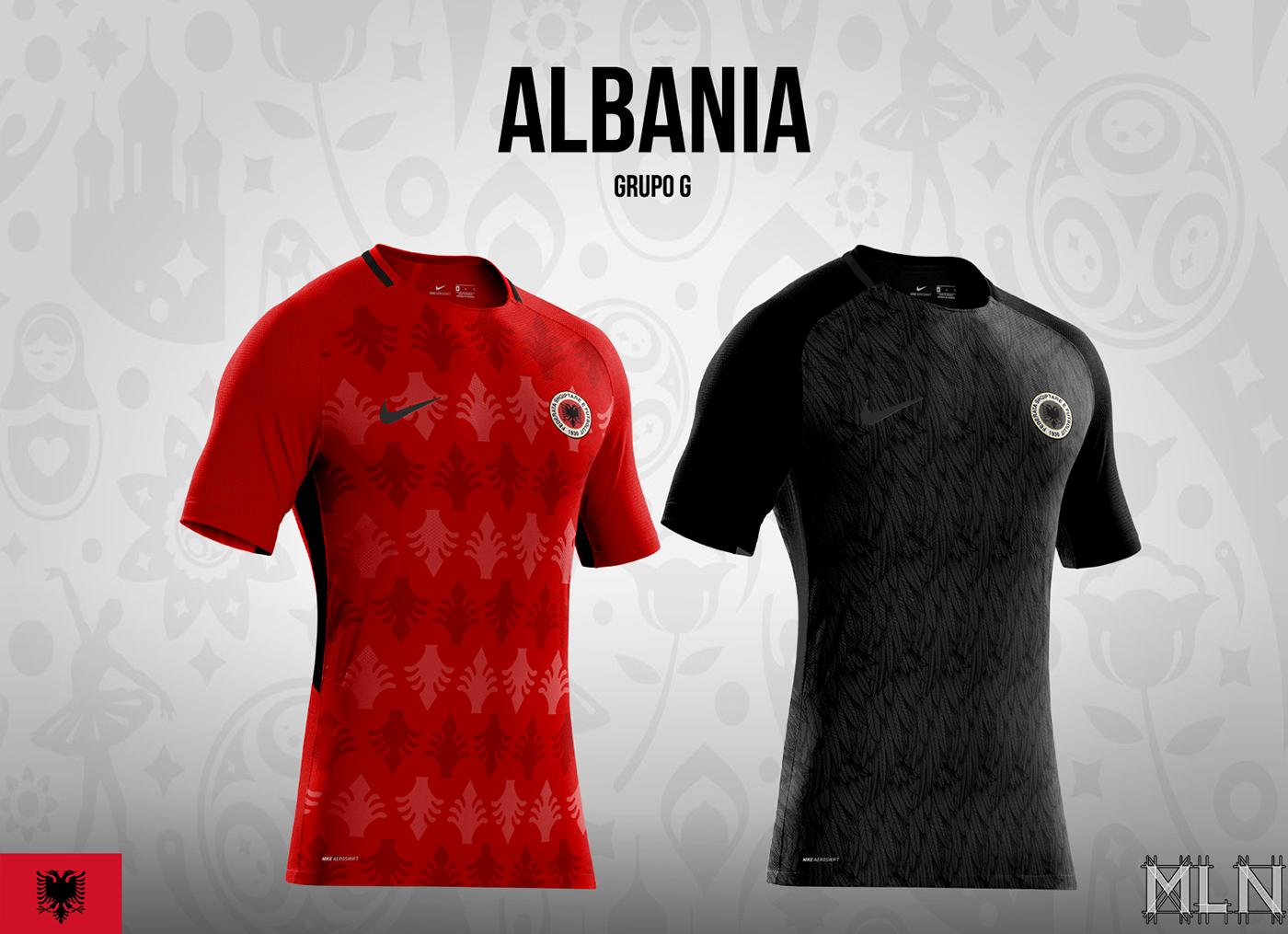 Designers criam camisas das seleções europeias que ficaram de fora da Copa  do Mundo da Rússia 1ba804892dd3e