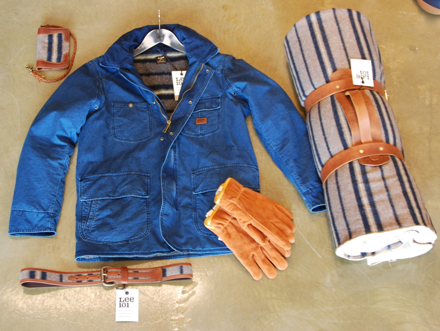 Winter Horse Blankets >> CHAD'S DRYGOODS: LEE STORM RIDER JACKET - HISTORY REPEATING