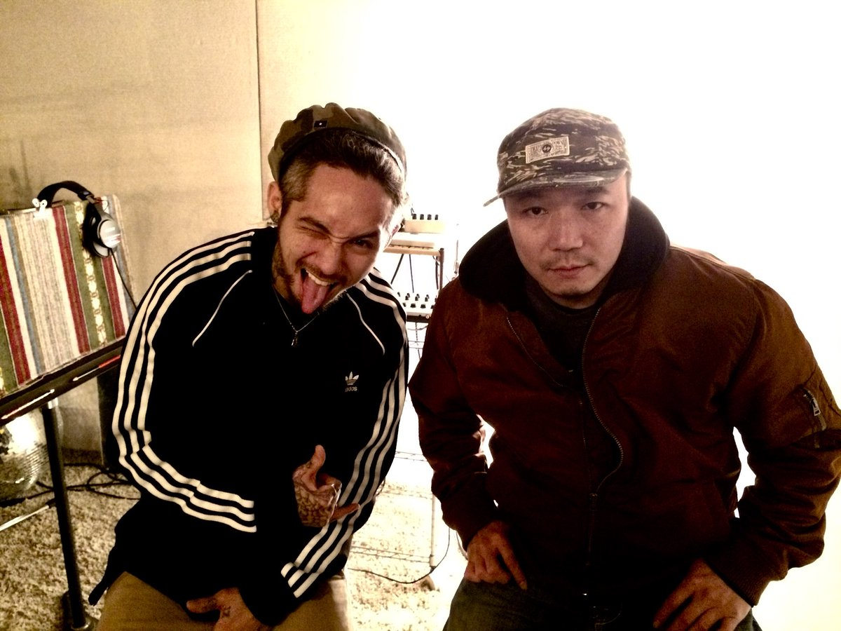 Kyono & Jeeze (The Bonez, Rize)