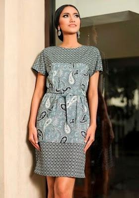 Model baju batik keris kreasi baru