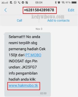 Cara Lapor SMS Penipuan Berhadiah ke OJK