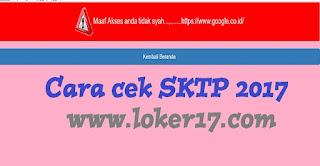 cek sktp 2018-2019