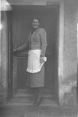 Foto von junger Frau - 1930-1950