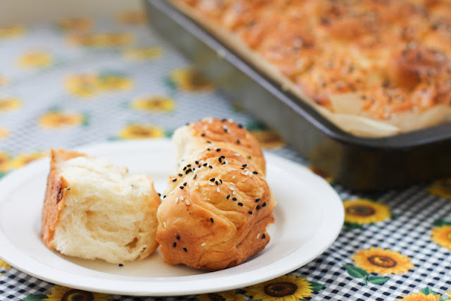 Food Lust People Love: A traditional bread, made from yeast dough spread liberally with butter or margarine, Yemeni kubaneh bakes up light and fluffy. It's perfect with your morning coffee or an afternoon cup of tea.