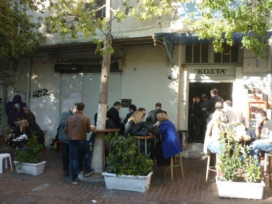 Disfruta de la gastronomía típica de Atenas