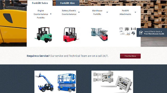 reputable supplier and rental services provider of forklift and other equipment