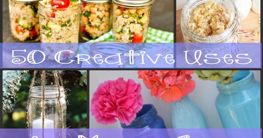 Personal Creations 50 Creative Uses For Mason Jars