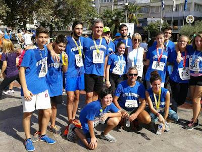 Συμμετοχή του 4ου ΓΕΛ Κατερίνης στον αγώνα «τρέχω για την Κατερίνη» 2016