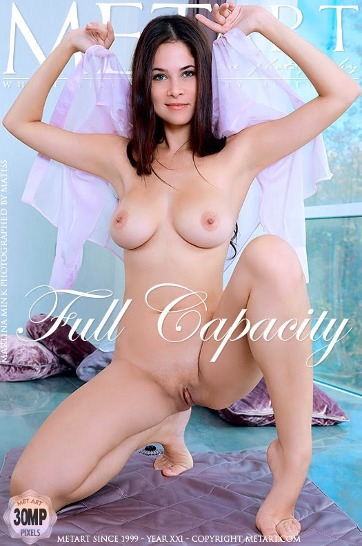 [Met-Art] Martina Mink - Full Capacity