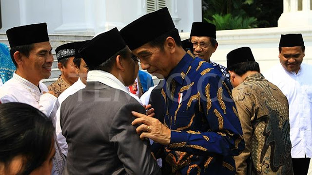 Presiden Jokowi Minta Maaf kepada Para Ulama