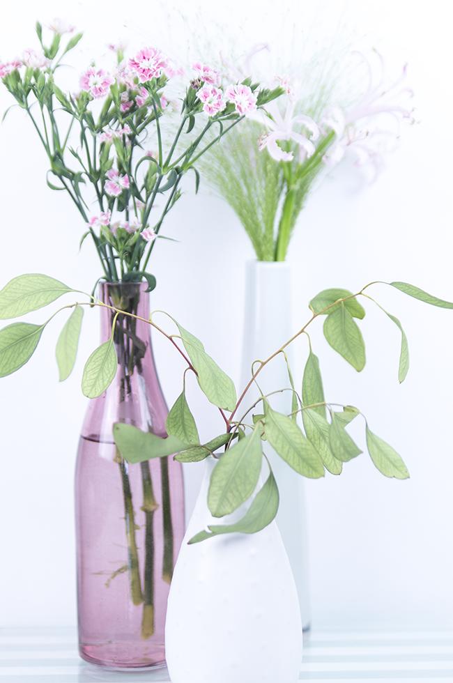 Ynas Design Blog | Rosafarbene Blumenreste