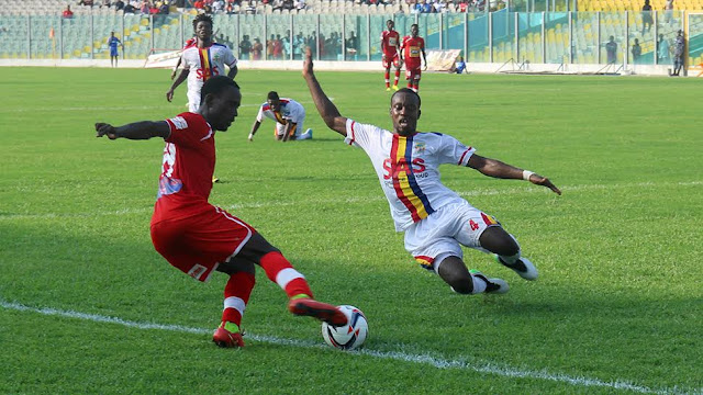 Kotoko fight back to earn point against Hearts
