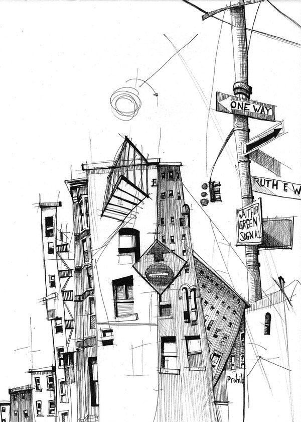 12-Gregor-Louden-Architectural-Drawings-of-our-Streets-www-designstack-co