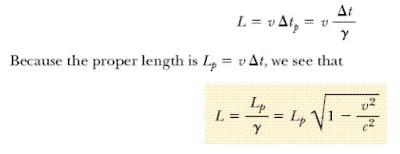 تمدد الزمن وانكماش الطول النسبية الخاصة