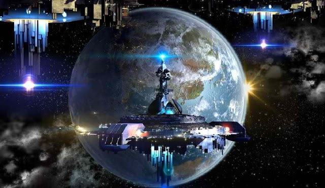 Alien Fleet Set to Invade Earth Spotted By NASA Satellite
