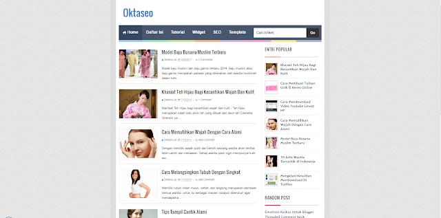 OktaSeo - A Responsive