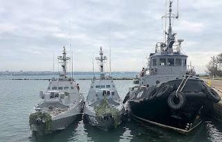 Rusia akan Kembalikan Kapal AL Ukraina yang Disita