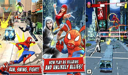 spider man ultimate power apk unlimited everything