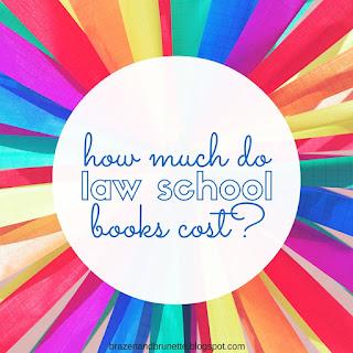 how much do law school books cost | brazenandbrunette.com