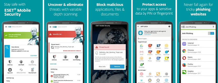 ESET Mobile Security Antivirus Mobile Terbaik