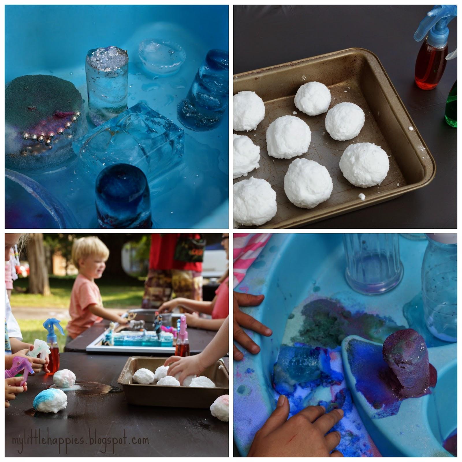 Enjoyable Little Happies Frozen Fun Inspired Art Sensory Camp Machost Co Dining Chair Design Ideas Machostcouk
