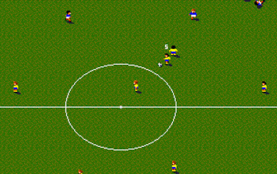 Sensible Soccer Game Screenshots 1992