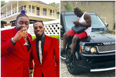 Dbanj buys a brand new Range Rover for his artiste, Cheekychizzy [Photos]