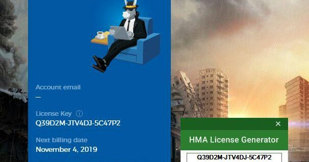 hma license key feb 2019