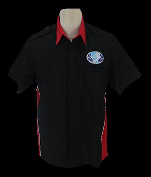 contoh baju seragam kerja warna hitam