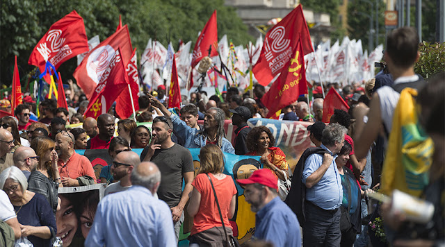 Milan March for Open Borders
