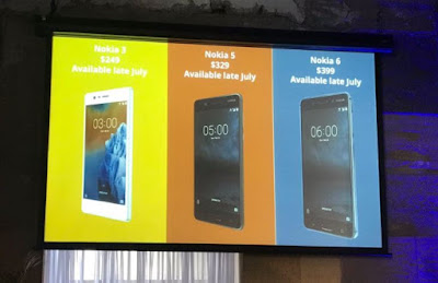 Nokia 3, Nokia 5 and Nokia 6 Launched in Australia