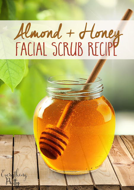 Almond and honey facial scrub recipe