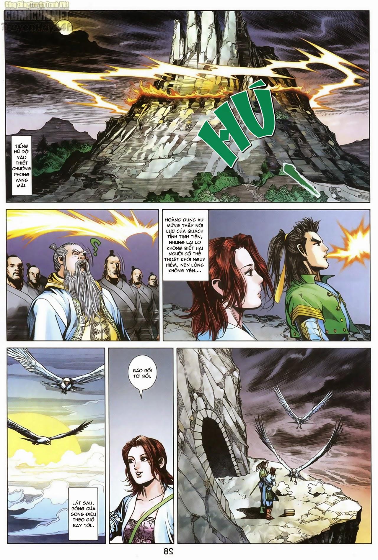 Anh Hùng Xạ Điêu anh hùng xạ đêu chap 69: hồn đoạn thiết chưởng phong trang 29