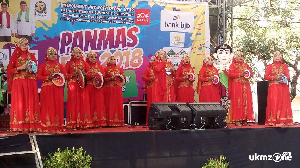 Lomba qasidah di acara Panmas Fair 2018