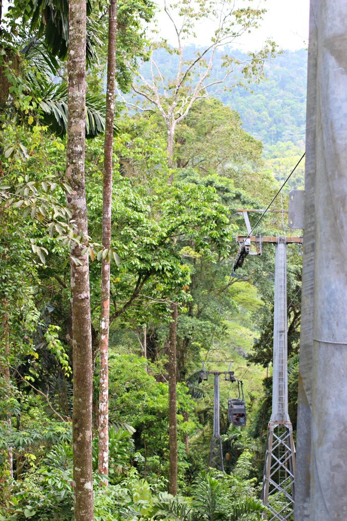 Take the gondola ride on your vacation in Costa Rica