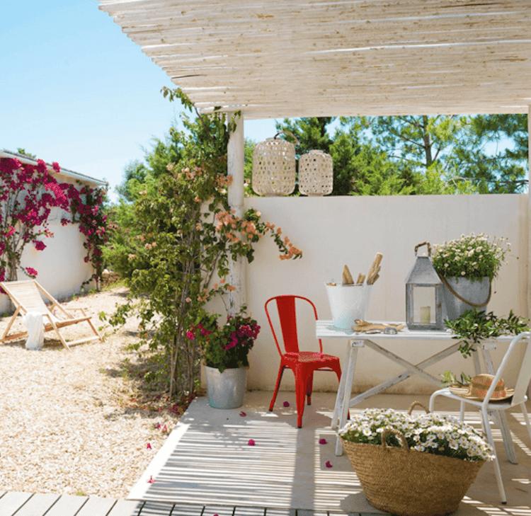 Ideas para decorar y refrescar tu casa, terraza