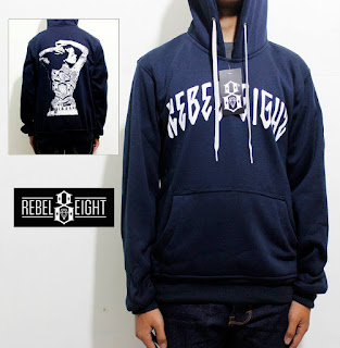 Jaket Rebel8 Woman Biru