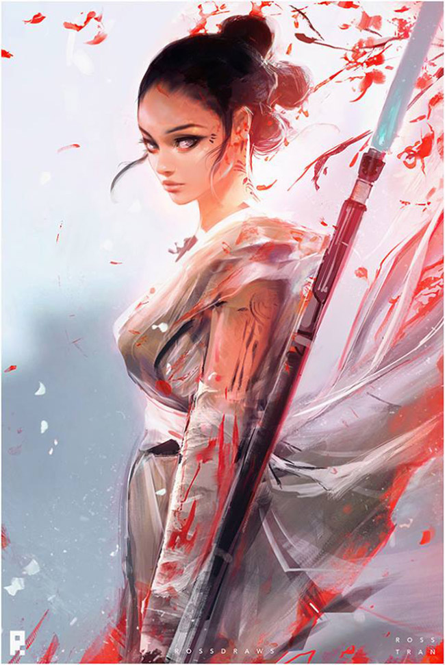 Ross Tran - Asian Star Wars Art on YellowMenace.net