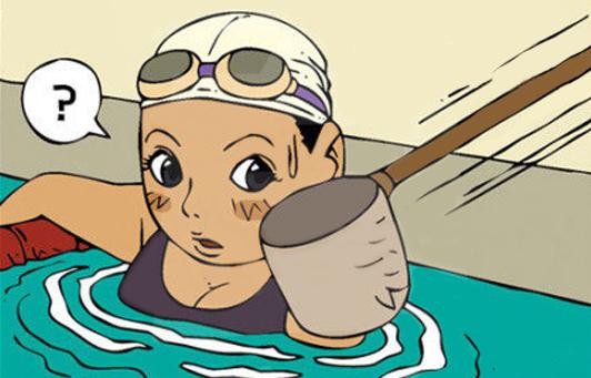Yang Young-Soon phần 33: Hồ bơi trong xanh