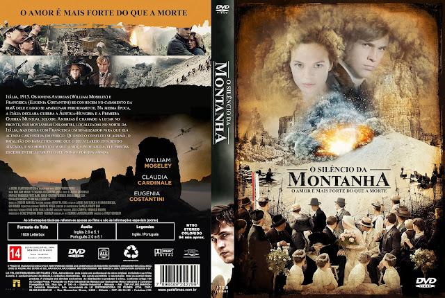 Capa DVD O Silêncio Da Montanha