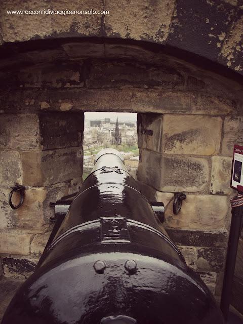 Castello di Edimburgo -  Vista su Old Town