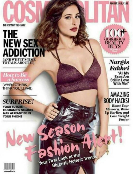 nargis fakhri New Bollywood Actress Pics 2016 on maxim